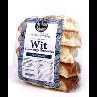 Witte Hamburgerbroodjes 10 stuks