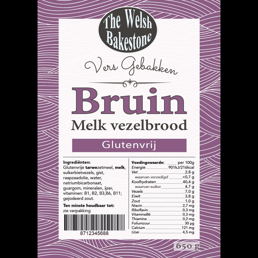 Bruin Melk Vezelbrood