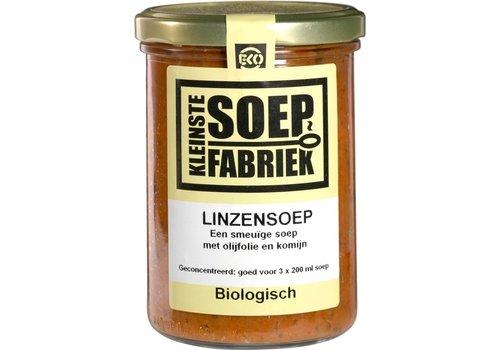 KleinsteSoepFabriek Linzensoep Biologisch