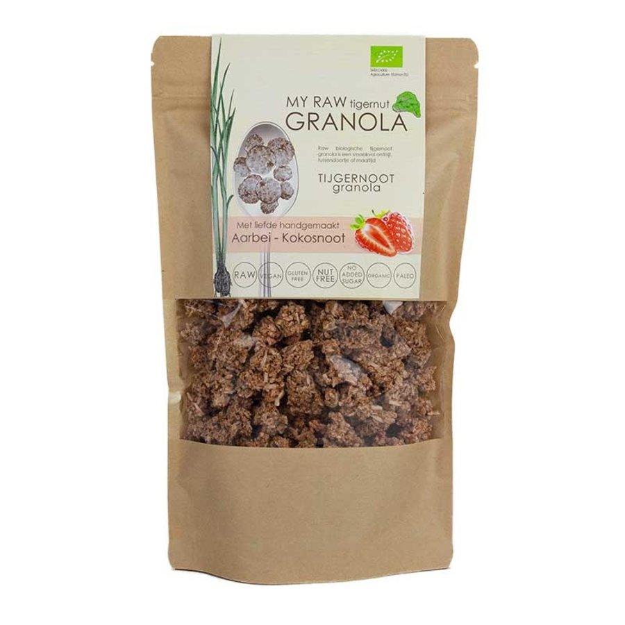 My Raw Granola Aardbei Kokosnoot Biologisch