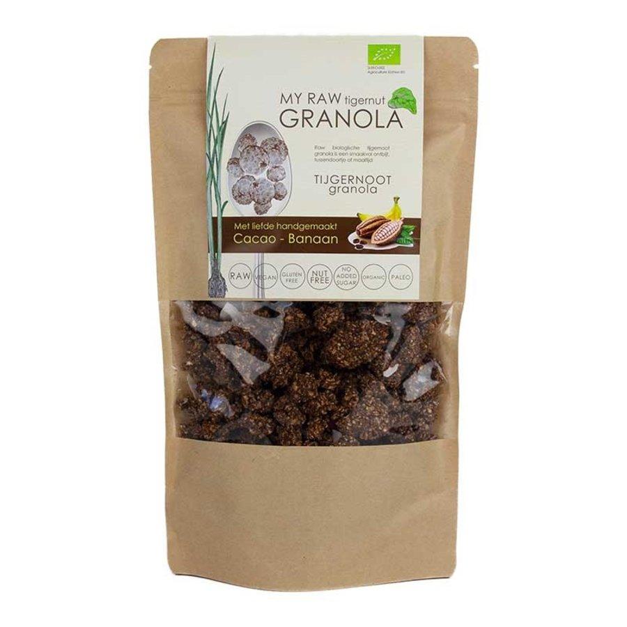 My Raw Granola Cacao Banaan Biologisch