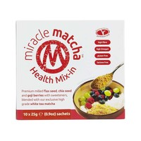 Miracle Matcha Health Mix-in 10x25g