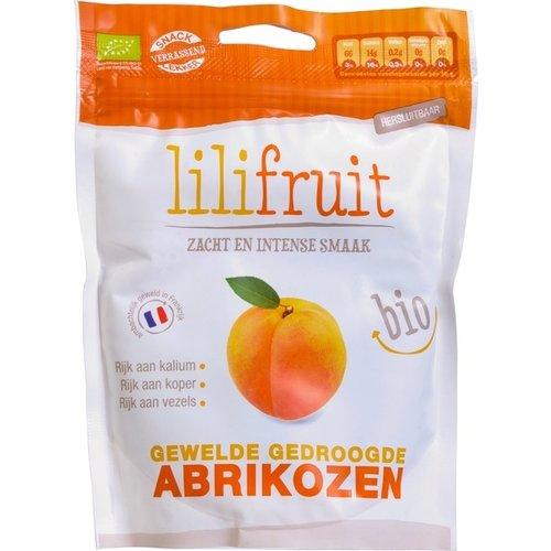 Lilifruit Gewelde Abrikozen Biologisch