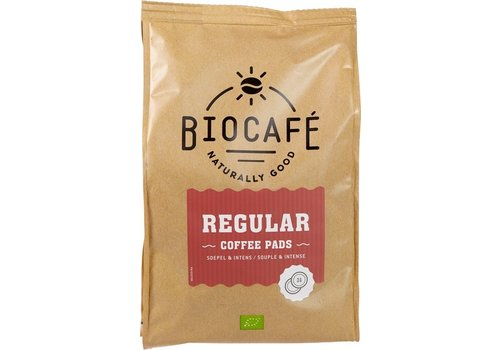 BioCafé Koffiepads Regular 36 stuks Biologisch