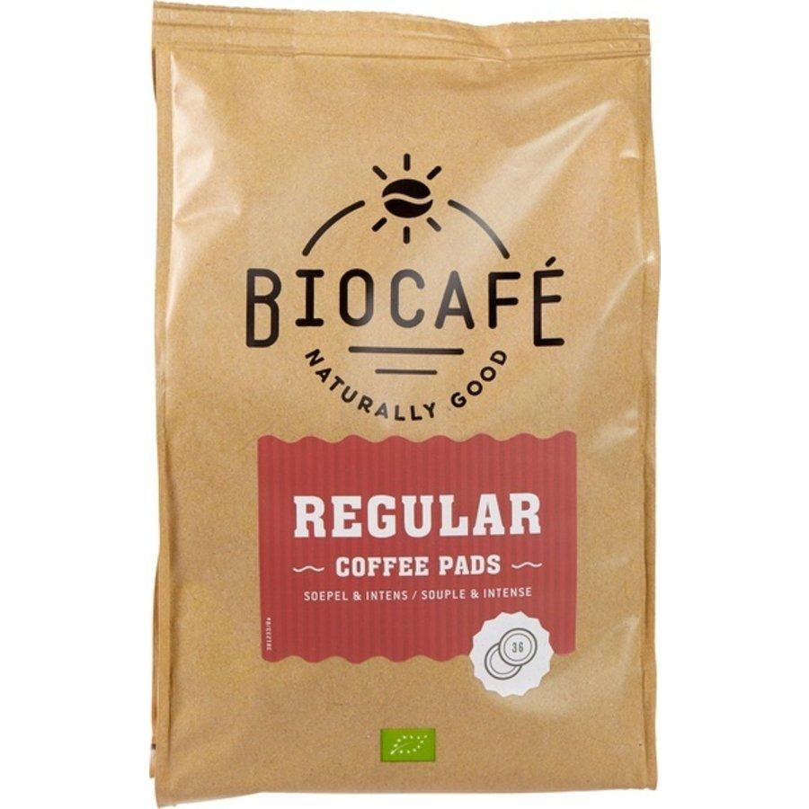 Koffiepads Regular 36 stuks Biologisch