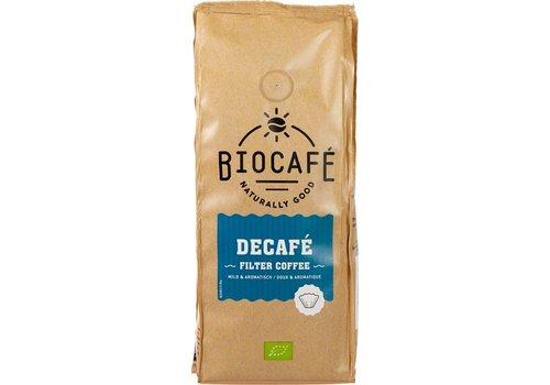 BioCafé Filterkoffie 100% Arabica cafeïnevrij Biologisch
