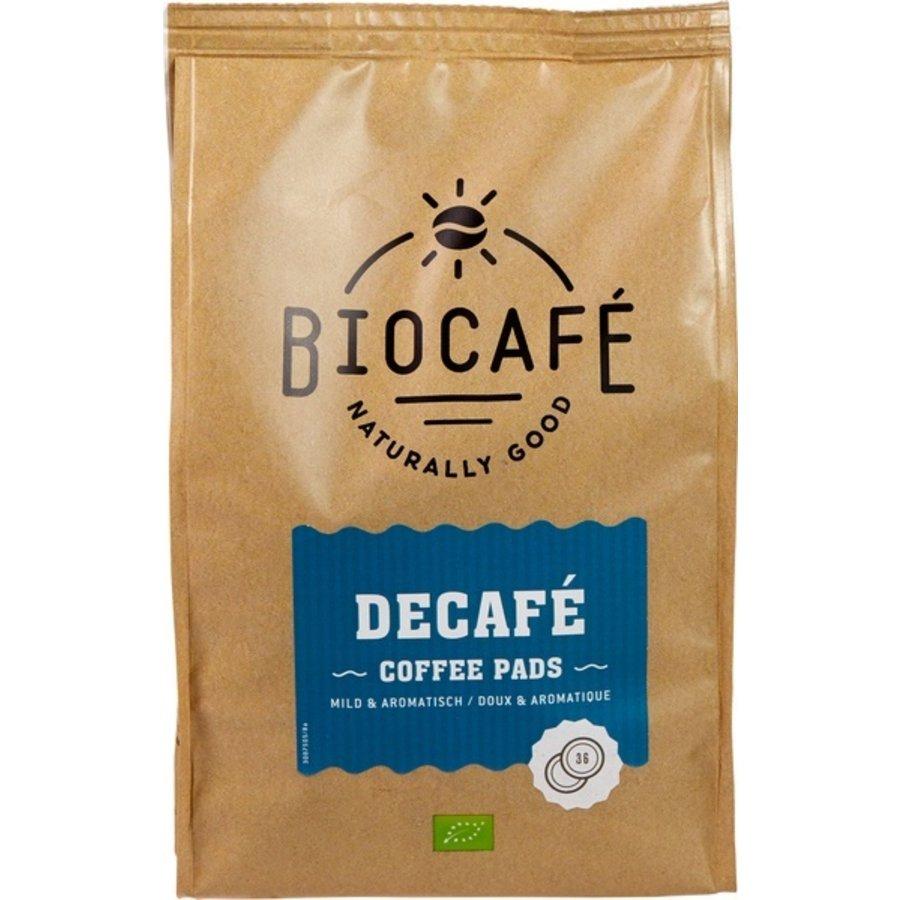 Koffiepads Cafeïnevrij 36 stuks  Biologisch