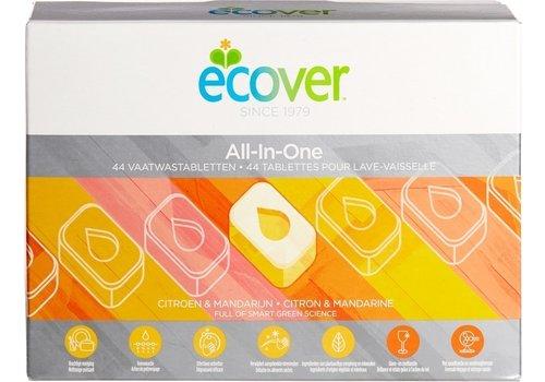 Ecover Vaatwastabletten All-In-One 44 stuks