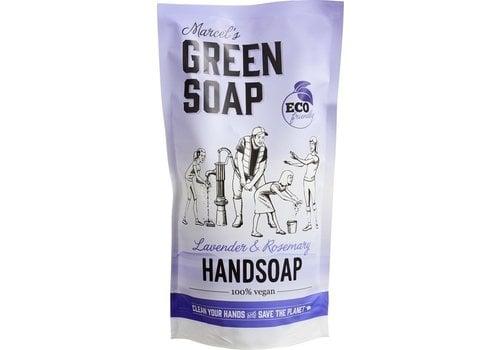 Marcel's Green Soap Navul handzeep Lavendel & Rozemarijn