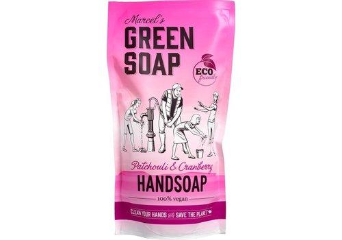 Marcel's Green Soap Handzeep navul Patchouli & Cranberry
