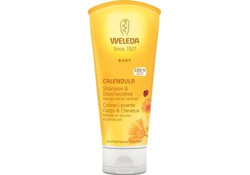 Weleda Calendula Baby Haar & Body Shampoo 200 ml