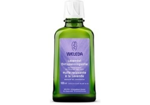 Weleda Lavendel Ontspanningsolie 100 ml