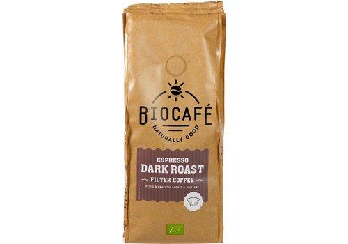 BioCafé Filterkoffie espresso dark roast Biologisch