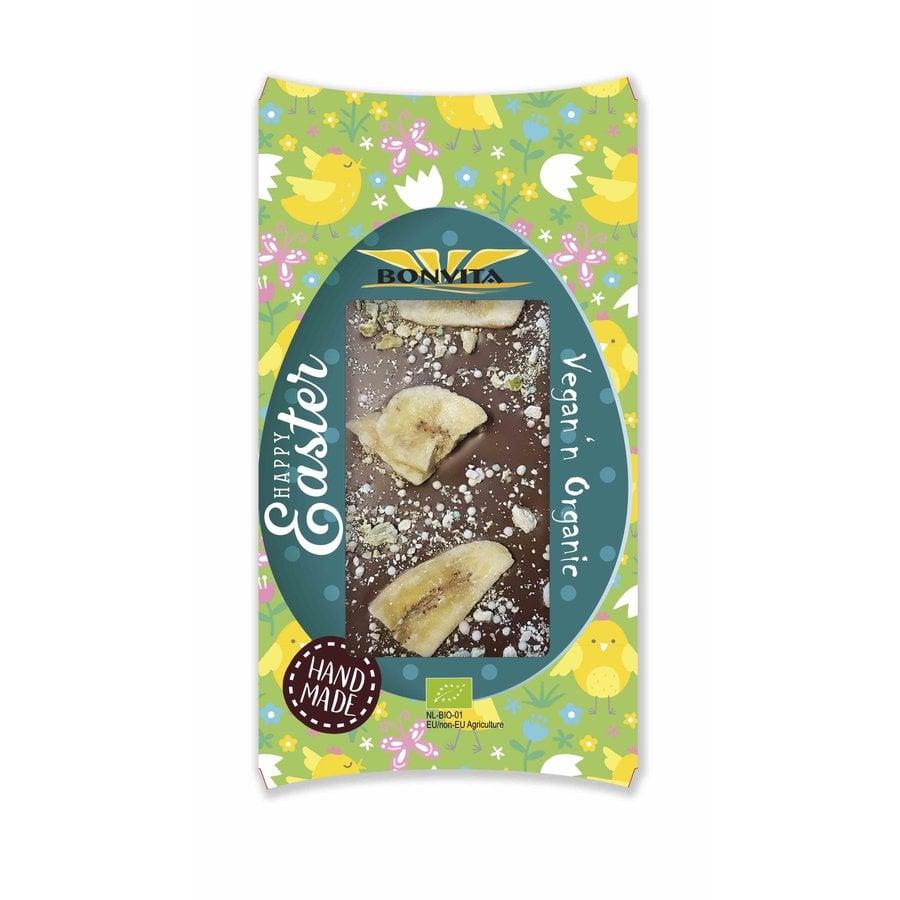 Chocoladereep met Banaan, Mango & Framboos Biologisch