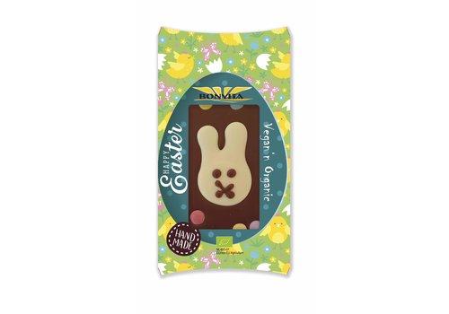 Bonvita Chocoladereep met Paashaas en Confetti Biologisch