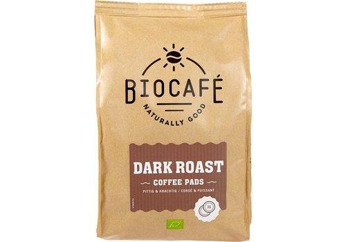 BioCafé Koffiepads dark roast 36 stuks Biologisch