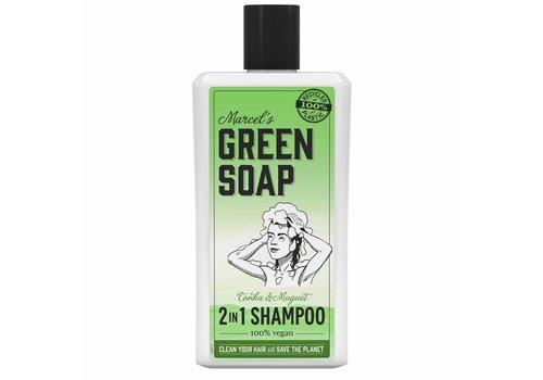 Marcel's Green Soap 2 in1 Shampoo Tonka & Muguet