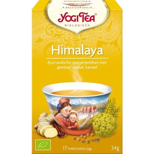 Yogi Tea Himalaya Kruidenthee Biologisch