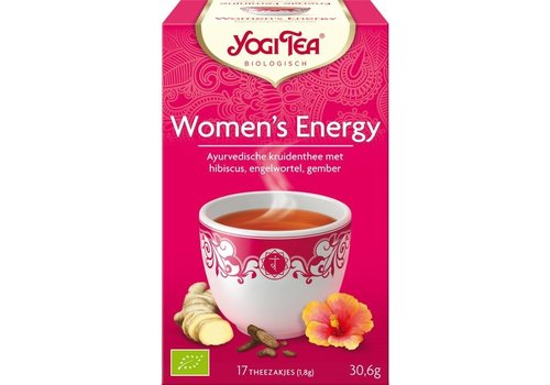 Yogi Tea Women's Energy Thee Biologisch