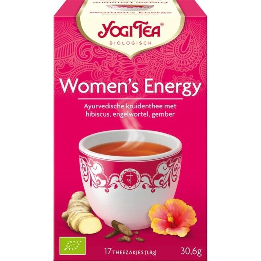Women's Energy Thee Biologisch