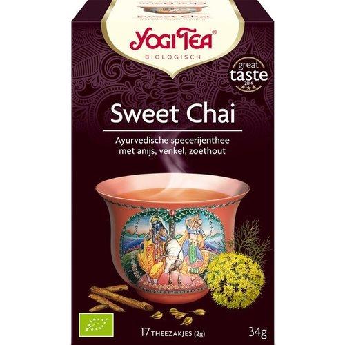 Yogi Tea Sweet Chai Thee Biologisch