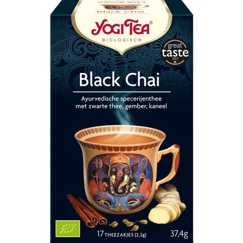 Yogi Tea Black Chai Thee Biologisch