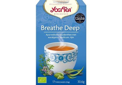 Yogi Tea Breathe Deep Kruidenthee Biologisch