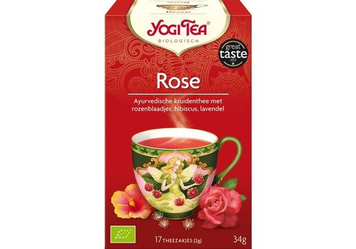 Yogi Tea Rose Kruidenthee Biologisch