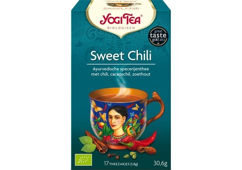 Yogi Tea Sweet Chili Thee Biologisch