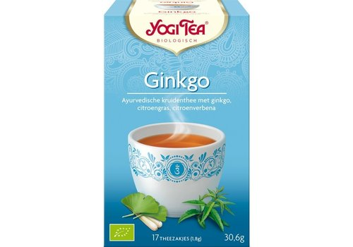 Yogi Tea Ginko Kruidenthee Biologisch
