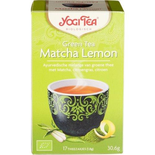 Yogi Tea Groene Thee Matcha Citroen Biologisch