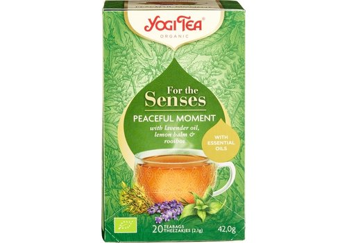 Yogi Tea Peaceful Moment Kruidenthee Biologisch