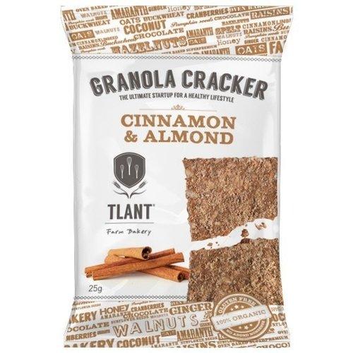 TLANT Granola Crackers Kaneel&Amandel Biologisch