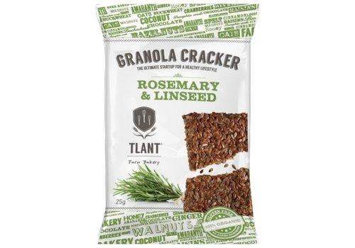 TLANT Granola Crackers Rozemarijn&Lijnzaad Biologisch