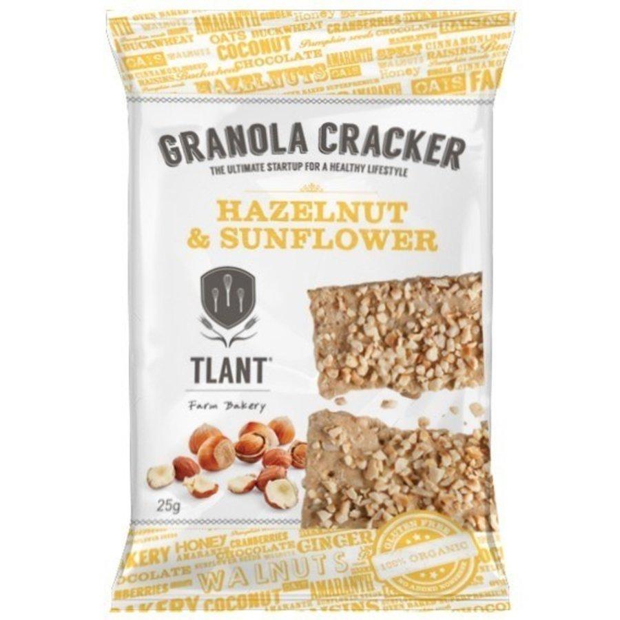 Granola Crackers Hazelnoot&Zonnebloem Biologisch