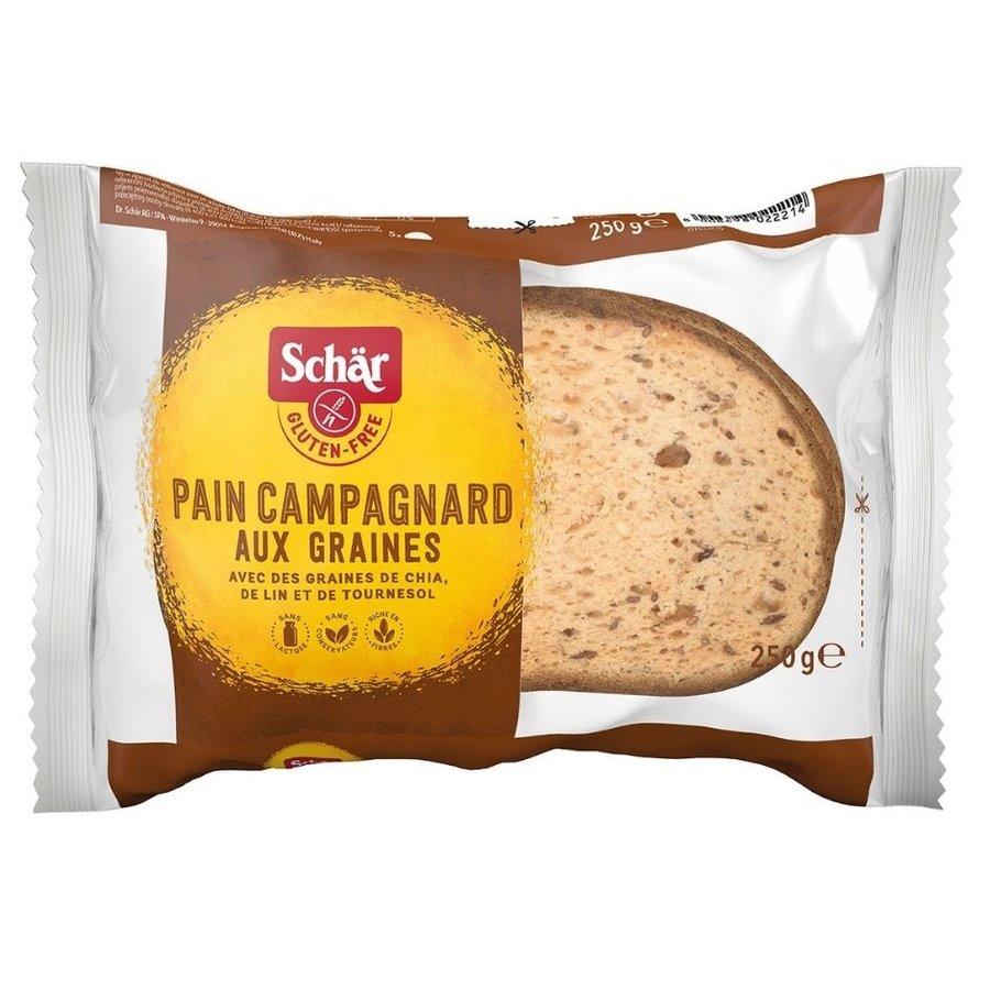Pain Campagnard Meergranenbrood