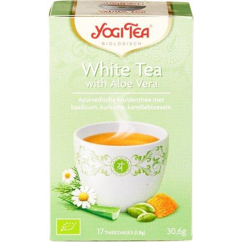 Yogi Tea Witte Thee Aloë Vera Biologisch