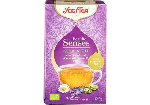 Yogi Tea For The Senses Goodnight Kruidenthee Biologisch