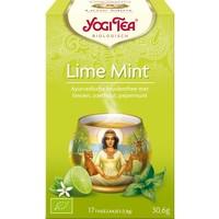 Limoen-Mint Kruidenthee Biologisch