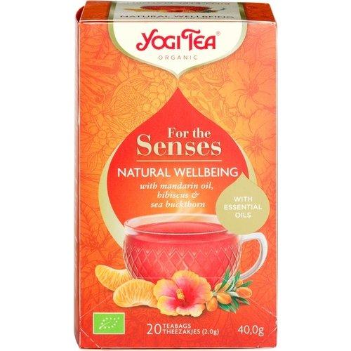 Yogi Tea For The Senses Natural Wellbeing Kruidenthee Biologisch