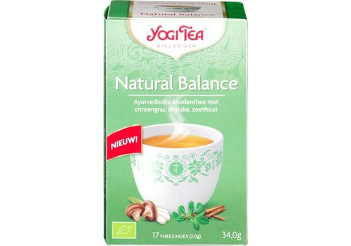 Yogi Tea Natural Balance Kruidenthee Biologisch