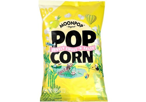 Moonpop Popcorn sweet 'n salty Biologisch