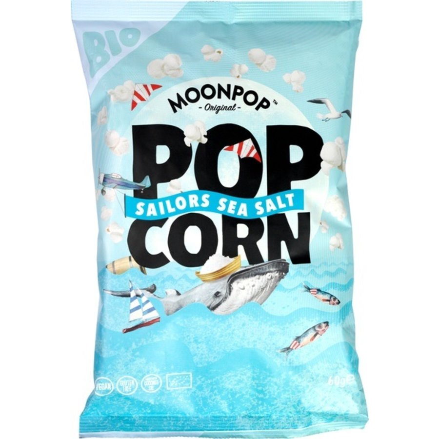 Popcorn Zeezout Biologisch