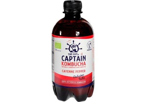 Captain Kombucha Kombucha Cayenne Peper Biologisch