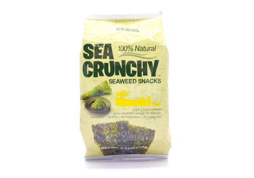YourWell Sea Crunchy Seaweed Snacks with Wasabi