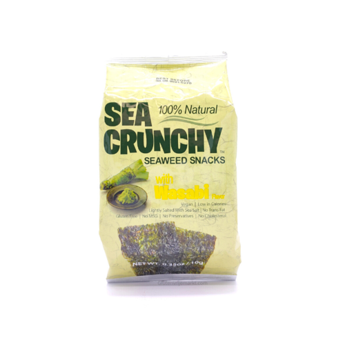 YourWell Sea Crunchy Seaweed Snacks with Wasabi