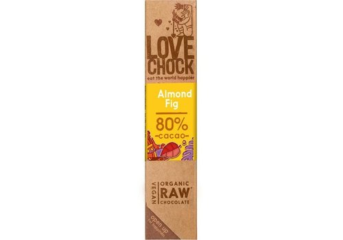 RAW chocolade amandel & vijg Biologisch