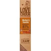 RAW chocolade moerbei & vanille Biologisch