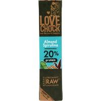 RAW chocolade amandel & spirulina Biologisch