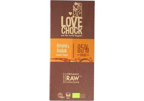 RAW chocolade amandel & baobab Biologisch